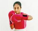 Lass from Kamburupitiya Nethmi Nimthera fuelled by Olympic boxing dream