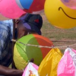 Galle Face: Colourful ware