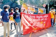 UoK students protest against suspension of peers;