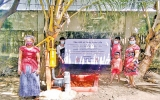 140 villagers share just two toilets