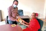 """Buddha Vandana"" and ""Bodhi Vandana""  dhamma books launched on Independence Day"