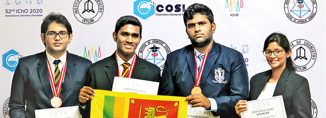 Institute of Chemistry Ceylon recognises the bronze medalists of the International Chemistry Olympiad 2020