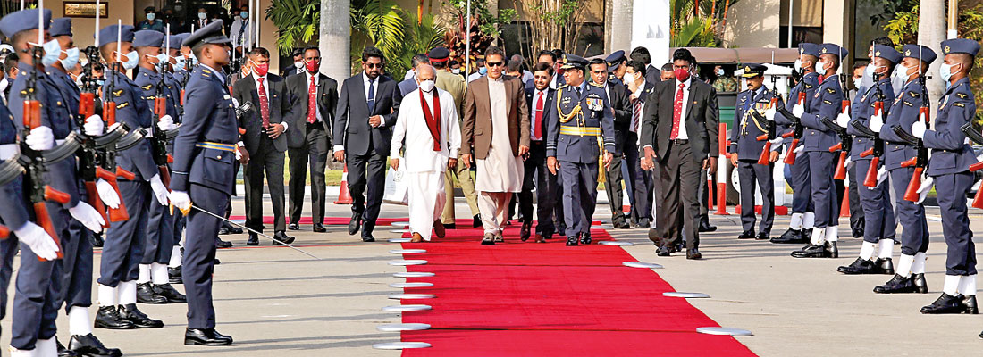 Imran visit ends on a positive note