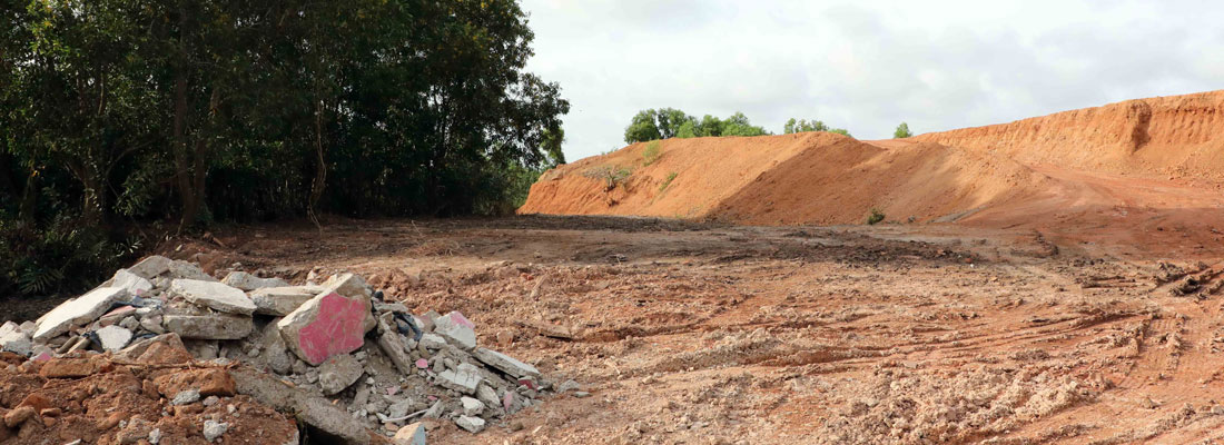 Who is doing what with the treasure of the Muthurajawela wetlands?
