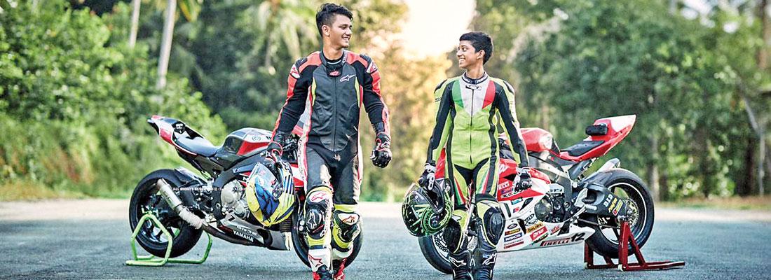 Stephan Fernando, an aspiring rider with international touch