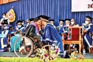 Disability no barrier for academic excellence