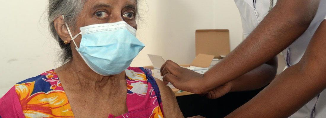 Special measures for vaccination rollout for elderly in Colombo city