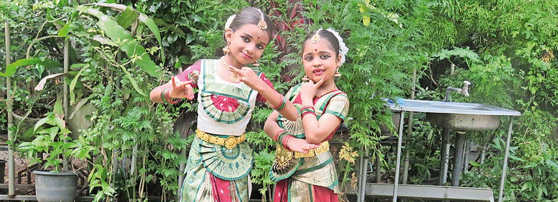 Bharata Natyam performance by Satvika School of Dance Students