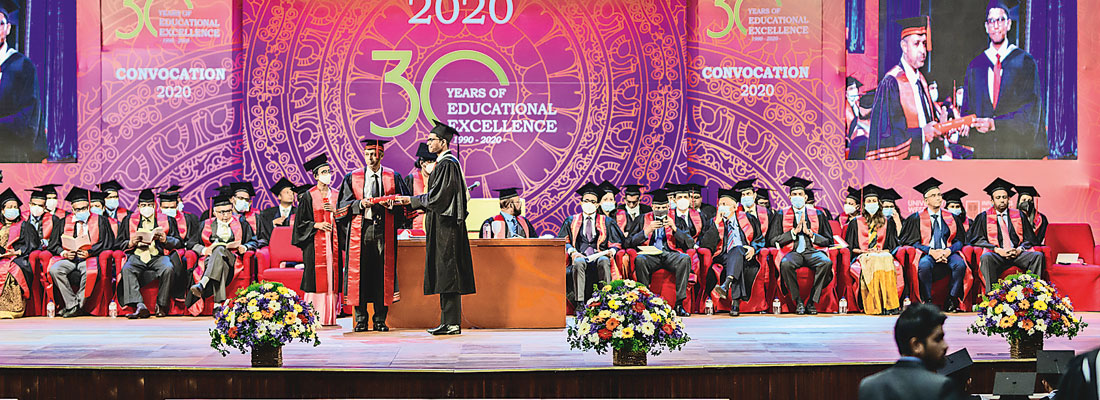 IIT's 30th anniversary sees students receive their University of Westminster degrees at Annual Convocation