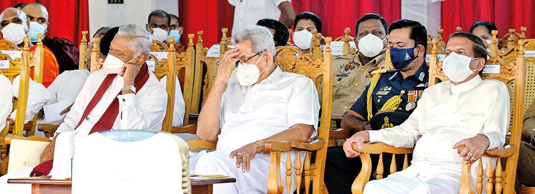 Tributes paid during final rites of late Most Ven. Agga Maha Panditha Kotugoda Dhammawasa Nayake Thera