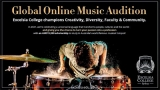 'Global Online Music Audition' – start your journey at Excelsia College and be part of the world's best musical hotspot!