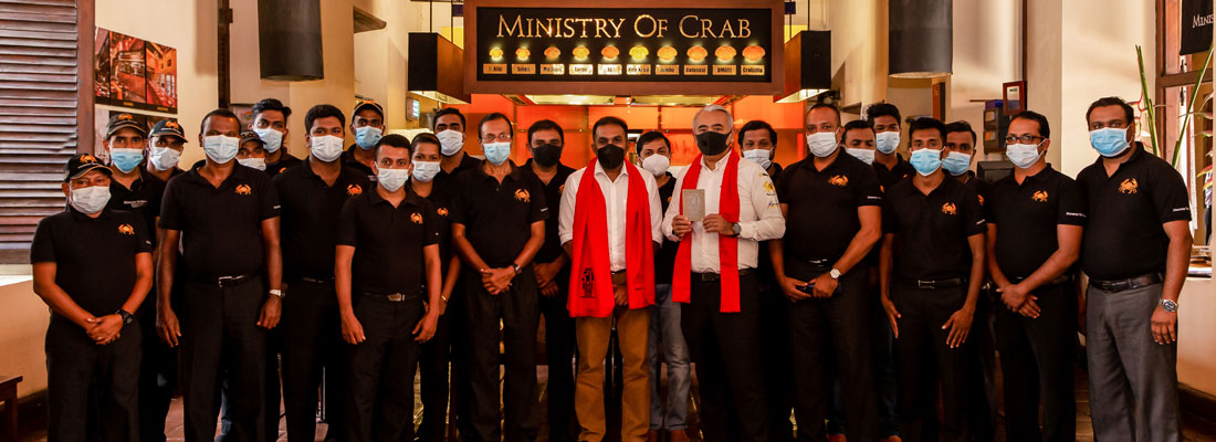 MINISTRY OF CRAB RECOGNIZED AS ONE ASIA'S 50 BEST RESTAURANTS FOR THE 7th YEAR!