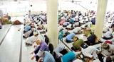 Ramadan's first Jumma prayers at Devatagaha mosque