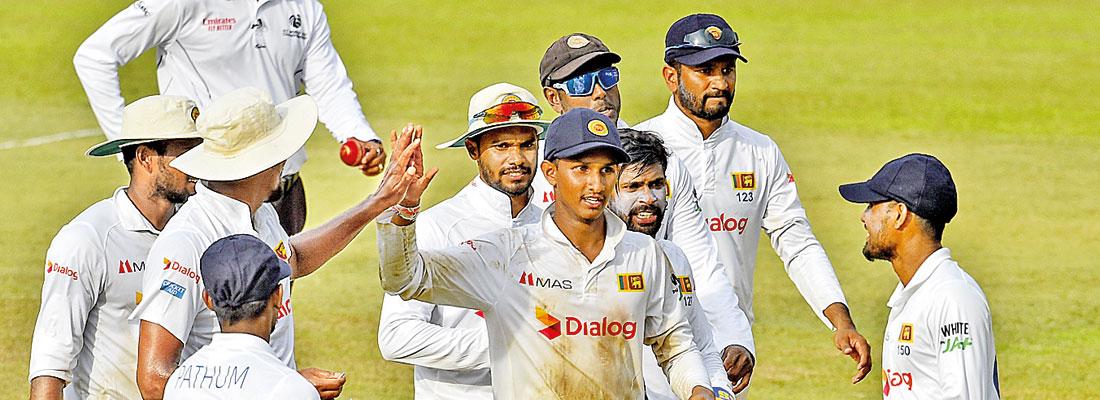 Jayawickrama's dream debut blunts Bangladesh