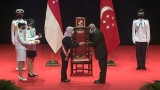 Dr. Jayantha Dharmadasa honoured with the prestigious Public Service Star Award of Singapore