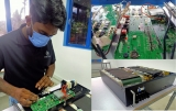 Innovative Sri Lankan engineer  takes on the world with high  capacity energy storage batteries