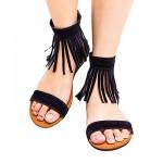 Black-Tassel-Zip-up-Sandals