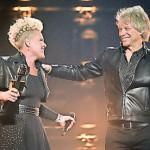 Bon Jovi and Pink