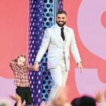 Drake and son Adonis