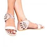 Rose-Gold-Motif-Cut-Sandals