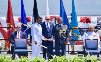 Sri Lanka Naval Officer graduates with Honours from the US Coast Guard Academy