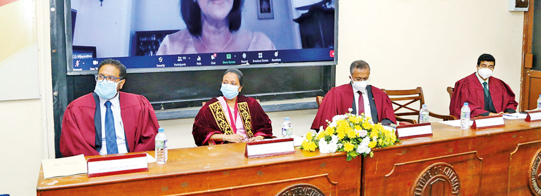The Golden Jubilee Annual Sessions of the Institute of Chemistry Ceylon