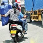 Wattala: Multi-purpose vehicle: Pic by Nisal Baduge