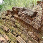 Centuries old building blocks exposed to the elements