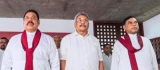 Rajapaksa triumvirate in Chariot of the Demi-Gods