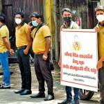 Dengue field assistants protest