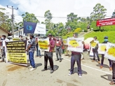 Education unions in protest across the island