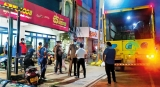 Police guard at Sathosa outlet after liquor dispute