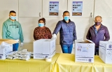 Aussie Lankans' donations  flow for COVID project  sans politicos back home