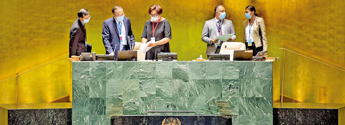 UN session, with over 110 world leaders, may be a 'super spreader' covid event, warns US