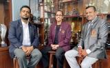 Gateway felicitates its coach for making Sri Lanka proud