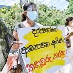 Teachers held protests across the country. Pix by Kanchana Kumara, Sudath Hewa, Hiran Priyankara and Akila Jayawardana