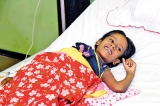Pioneering step in little girl's battle between life and death